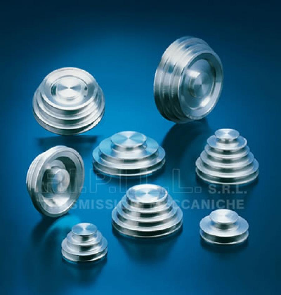 Aluminium Step Pulleys